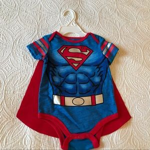 Superman Onsie with Cape size 6-9 months